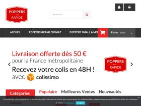 Code Promo Poppers Rapide